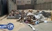 بلدية الهفوف تزيل مخلفات البناء والنفايات داخل الأحياء