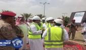بالصور.. نائب أمير منطقة عسير يزور مشروع تطوير مطار أبها