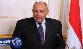 وزير الخارجية المصري: لن نتهاون ولا بد من الحسم مع الإرهاب