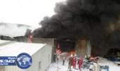 السيطرة على حريق بـ6 بركسات بالمدينة الاقتصادية ببيش