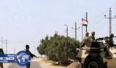 الجيش المصري يدمر أوكار المسلحين بسيناء