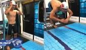 بالصور.. مترو الأنفاق في تايوان يتحول إلى ملاعب رياضية