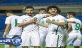 الأخضر الأولمبي يكتسح أفغانستان بـ8 أهداف في تصفيات كأس آسيا
