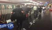 بالصور.. الأمطار تُعطل حركة القطارات في باريس