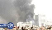 قصف صاروخي يستهدف السفارة الروسية وسط دمشق