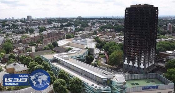 الحريق يكشف فساد مواد بناء برج جرينفيل بلندن