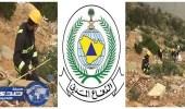 مدني عسير: إصابة شاب إثر سقوطة من منحدرات السودة