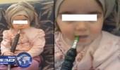 """"""" كفى """" تستنكر فيديو الأطفال المدخنين وتطالب بمحاسبة أولياء أمورهم"""
