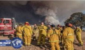بالصور.. حرائق بغابات كاليفورنيا والسلطات تخلي البلدان