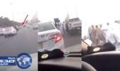 بالفيديو.. مطاردة مثيرة بالرياض والدورية الأمنية تطيح بقائد المركبة الهاربة