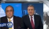 """بالفيديو.. محلل سياسي يفضح """" الجزيرة """" على الهواء"""