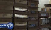 ضبط 40 ألف علبة دخان مهربة في الخفجي