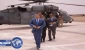 رئيس الوزراء اليمني يزور القاعدة الإدارية للتحالف العربي بعدن