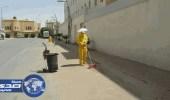 بلدية الأحمر تغيير أوقات عمل عمالة النظافة