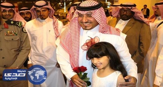 نائب أمير عسير يزور مهرجان الأسرة والطفل بقرية المفتاحة