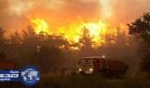 حشد ٨٠٠ إطفائي للسيطرة على حريق غابات جنوب فرنسا