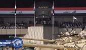 القوات المسلحة العراقية تنظم عرضاً عسكرياً ببغداد احتفالاً بالانتصار على داعش