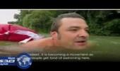 بالفيديو.. ألماني يذهب لعمله بالسباحة 44 كيلو متر شهرياً