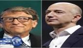 """مؤسس """" أمازون """" يتخطى بيل جيتس ويتصدر قائمة أثرياء العالم"""