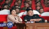 زوجة الرئيس الكوري تحتفل بإطلاق صاروخ عابر للقارات