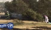 إخماد حريق في مزرعة مواطن ببلقرن