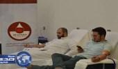 """بالصور.. حملة تبرع """" دماؤنا صدقة """" لصالح مستشفى الملك فيصل"""