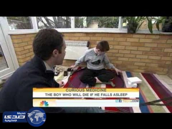 بالفيديو.. شاب يتوقف عن التنفس كلما غط في النوم