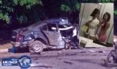 بالفيديو.. مصرع ملكة جمال أوكرانيا وصديقتها أثناء بث مباشر على الانترنت بحادث سير