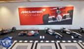 بالصور.. مجموعة سيارات ماكلارين تعرض في متحف في لاهاي