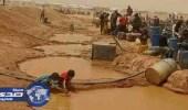غارات على مخيمات للسوريين قرب الحدود الأردنية