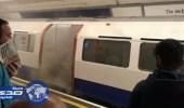 حريق يوقف حركة القطارات في وسط لندن