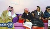 الأمير محمد بن عبدالعزيز ينقل تعازي القيادة لذوي الشهيد الهروبي