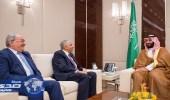نائب خادم الحرمين يبحث مع وزير النفط العراقي العلاقات الثنائية