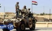 الجيش المصري يدمر 5 أوكار إرهابية بوسط سيناء