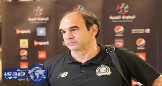 غوميز يقرر استبعاد 4 لاعبين من النصر