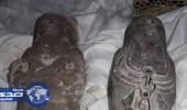 ضبط شرطي ينقب عن الآثار بحوزته تماثيل فرعونية