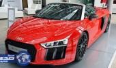 بالصور.. ظهور أودي R8 Spyder V10 Plus بمعدنها الحقيقي في ألمانيا