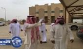مدير التدريب المهني بجازان يتفقد كلية التقنية في صامطة