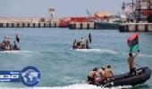 إنقاذ 22 مهاجرا غير شرعي قبالة الشواطئ الليبية