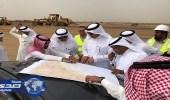 بالصور.. نائب وزير النقل يتفقد عددًا من المشروعات بجازان