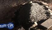 استنفار أمني لكشف لغز قبر حديث الإنشاء شمال عفيف