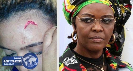 زوجة موجابى أمام قضاء جنوب إفريقيا بتهمة ضرب عارضة أزياء