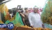 وكيل إمارة الباحة يزور مهرجان التمور بالعقيق ويشيد بما رآه