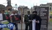 مظاهرات في لندن تطالب بمقاضاة أزلام النظام الإيراني
