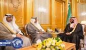 رسالة لخادم الحرمين الشريفين من أمير دولة الكويت تسلمها نائب الملك