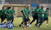 الأخضر يواصل تدريباته في جدة استعددادًا لمواجهة الإمارات