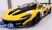 ماكلارين P1 GTR باللون الأسود والأصفر بـ 3.3 مليون دولار