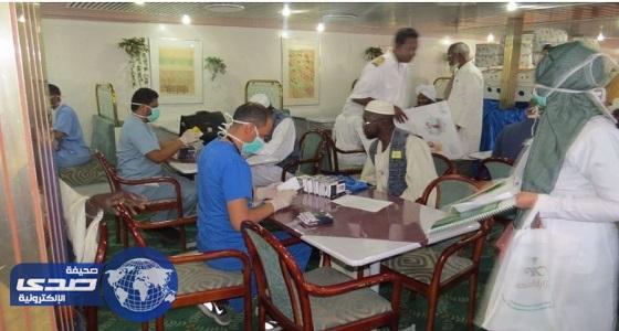 الصحة تستقبل أول سفينة حجاج في ميناء جدة الإسلامي