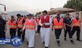 بالصور.. رئيس الهلال الأحمر يتفقد مركز الإسناد بالعاصمة المقدسة