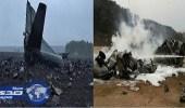 تحطم طائرة عسكرية باكستانية